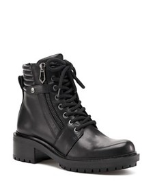 Botkier Botkier - Women's Moto Leather Lace Up Boo
