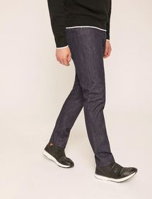 J23 MADE-IN-ITALY STRAIGHT-FIT INDIGO JEAN
