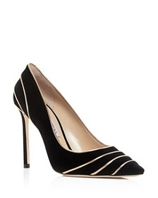 Jimmy Choo Jimmy Choo - Women's Romy 100 Suede & M