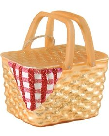 Cody Foster Cody Foster Set of 6 Picnic Basket Orn