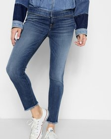 B(air) Denim Roxanne Ankle with Frayed Hem in Vint