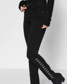 B(air) Denim High Waist Ankle Skinny with Hook and