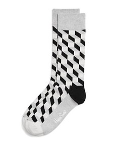 Happy Socks Happy Socks - Men's Filled Optic Cube