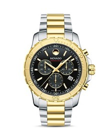Movado Movado - Series 800 Two-Tone Chronograph, 4