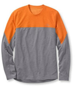 L.L.Bean Uplander Pro Hunting Tee, Long-Sleeve Cre