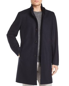 Theory Theory - Belvin Button-Front Topcoat