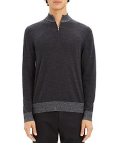 Theory Theory - Rothley Color-Block Quarter-Zip Sw