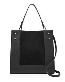 Botkier Botkier - Park Slope Leather & Suede Satch