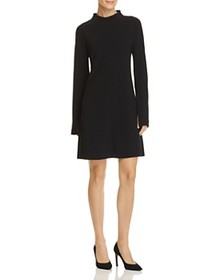 Theory Theory - Flared-Sleeve Crepe Dress