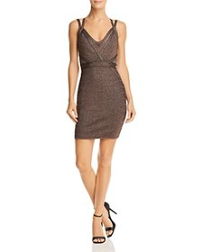 GUESS GUESS - Mirage Metallic Strappy Body-Con Dre