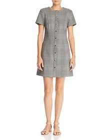 Theory Theory - Easy Snap Glen Plaid Dress