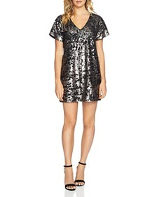 1.STATE 1.STATE - Sequined Shift Dress