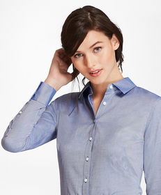 Cotton Royal Oxford Fitted Shirt