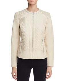Cole Haan Cole Haan - Quilted Leather Jacket