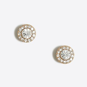 J. Crew Factory factory womens Glimmer circle stud