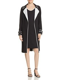 BOSS BOSS - Cosanna Piped Open Trench Coat