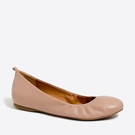 J. Crew Factory factory womens Anya leather ballet