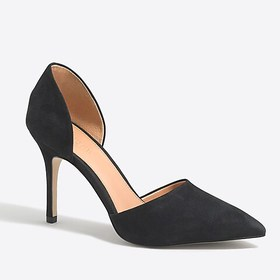 J. Crew Factory factory womens Lana suede d'Orsay