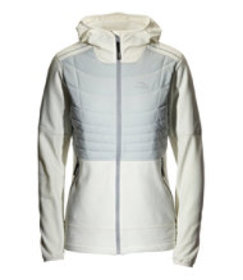 Women's North Col Hooded Hybrid Jacket, Colorblock