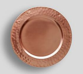 Hammered Copper Charger