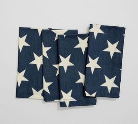 American Flag Napkin, Set of 4