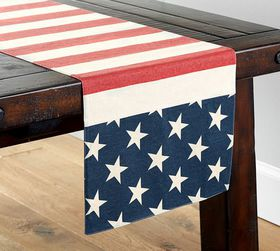 American Flag Table Runner