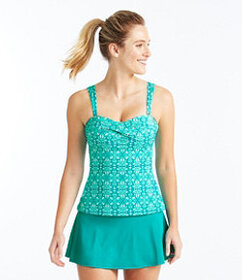 L.L.Bean Mix-and-Match Swim Collection, Bandeau Ta