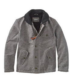 Men's Signature Sherpa-Lined Waxed Cotton Jacket,