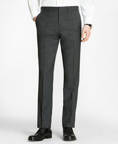 Milano Fit Plaid Trousers