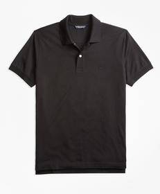 Slim Fit Supima® Compact Jersey Polo Shirt