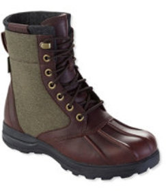 Bar Harbor Waterproof Insulated Boots, Leather/Can