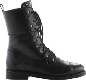 Iro Jeans Rangy Leather Studded Combat Boots (Wome