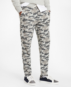 French Terry Camo Sweatpants