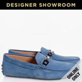 TOD'S Tod's Gommino Mens Suede Bit Driver Loafers