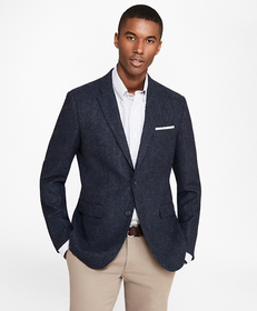 Milano Fit BrooksTweed® Donegal Sport Coat