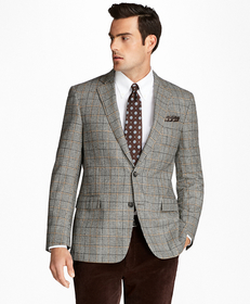 Regent Fit Black and White Plaid with Deco Sport C