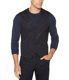 Perry Ellis Double-Knit Printed Performance Stretc