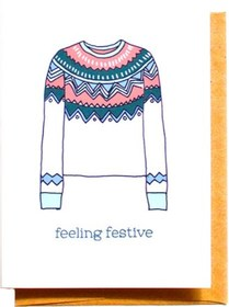 Compass Paper CoFeeling Festive Card