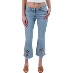3x1 Freja Cropped Bell-Bottom Jeans in Elkhorn (Wo