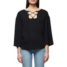 Frame Mirrored Lace Up Blouse (Women's)