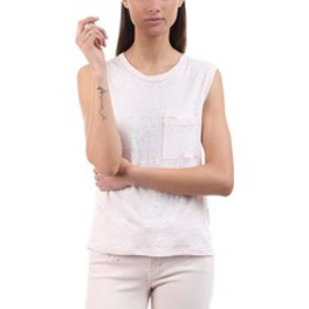 A.L.C. Sean Sleeveless Patch-Pocket Tee (Women's)