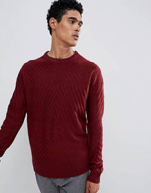 D-Struct Cable Knit Sweater