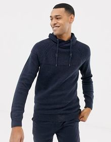 Esprit funnel neck sweater in chunky knit
