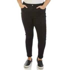 Plus Size Curvy Midrise Skinny Jeans