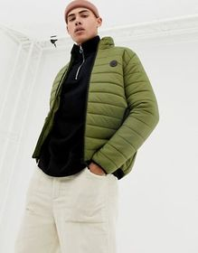 D-Struct Quilted Lightweight Funnel Neck Padded Ja