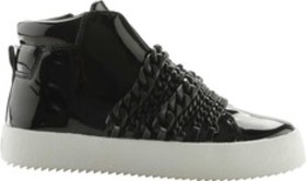 Kendall & Kylie Duke High Top Sneaker in Patent Le