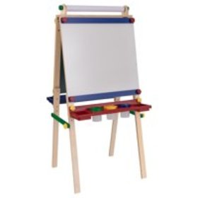 KidKraft Wooden Artist Easel with Paper Roll with
