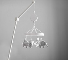 Flying Elephant Crib Mobile