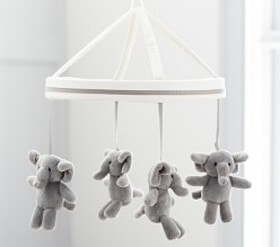 Harper Elephant Crib Mobile