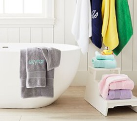 Classic Solid Bath Towel Collection
